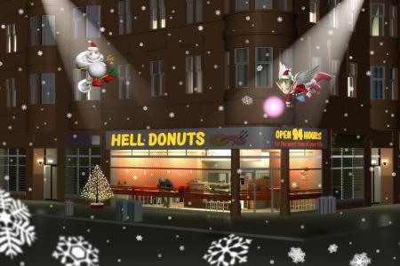 2019年12月 Hell Donutsクリスマス2019