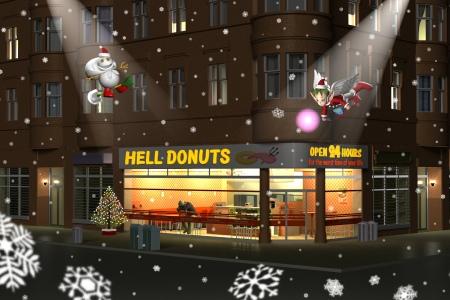 2020年12月(再) Hell Donutsクリスマス