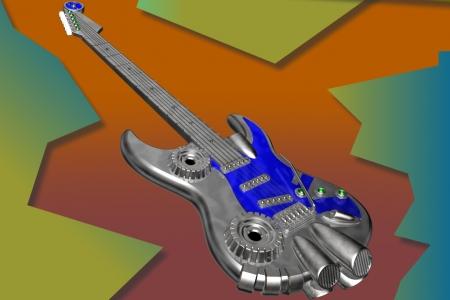 2005年2月 メタルギター
