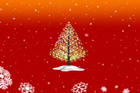 2020年12月(再)3DCGクリスマス・ツリー2020