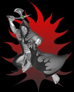 斧の祭祀(3Dキャラクター)