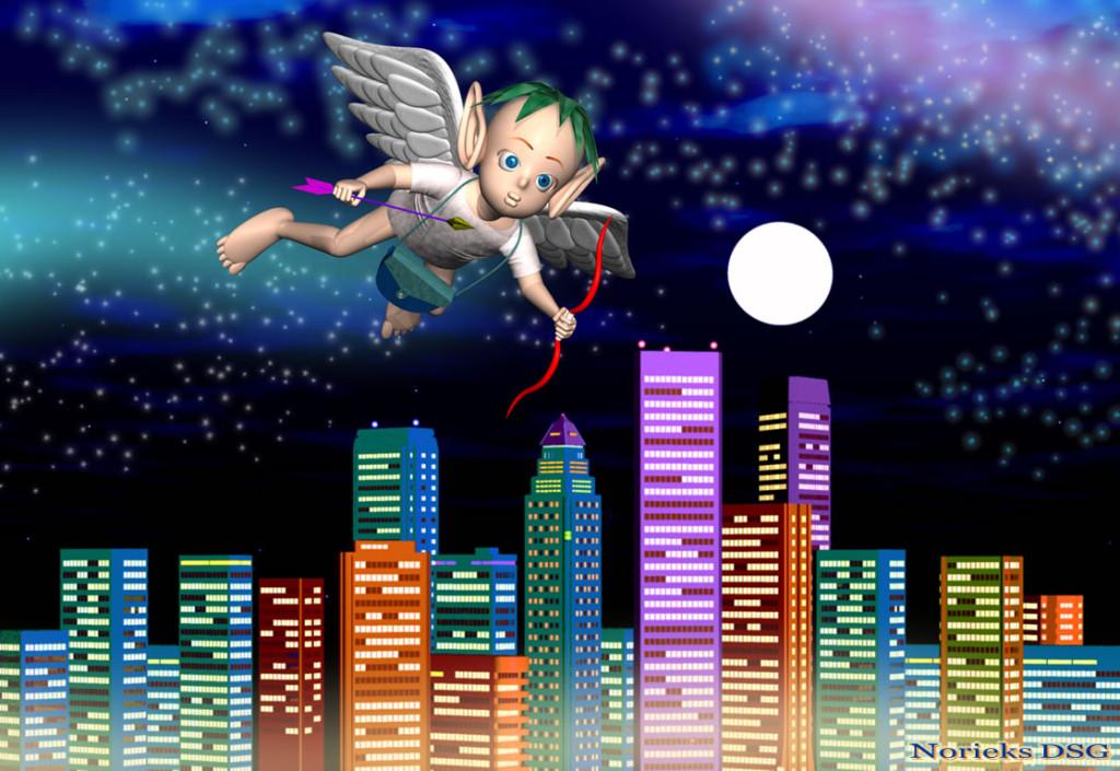 3DCG壁紙 天使