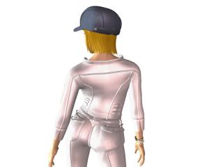 ポリゴンガール(3Dキャラクター)