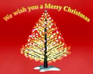 クリスマスツリー(その他の3DCG)