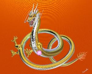 ドラゴン(鉄龍)(3Dキャラクター)
