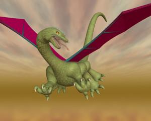 ドラゴン(西洋の竜)(3Dキャラクター)