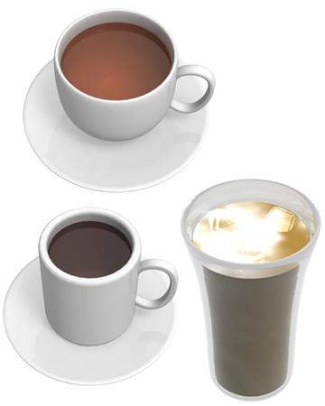 紅茶/コーヒー(その他の3DCG)