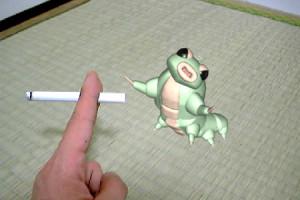 嫌煙の芋川喜三郎(3Dキャラクター)