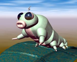 葉の上の芋川喜三郎(3Dキャラクター)