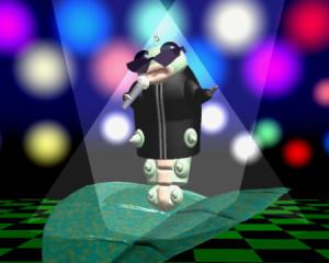 芋川喜三郎のシンガー(3Dキャラクター)