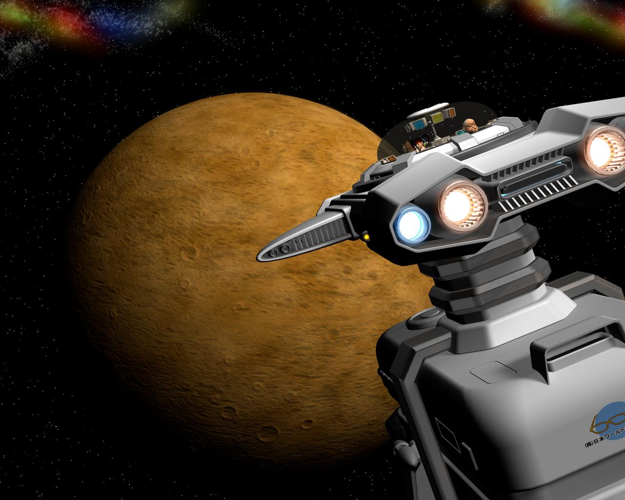 3dcg壁紙 火星に向かう宇宙船 Norieks Dsg 3dcgギャラリー