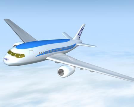 旅客機(3Dの乗り物)