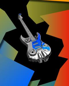 メタルギター(その他の3DCG)2