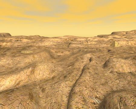 惑星地表(その他の3DCG)