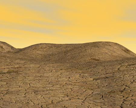 惑星地面(その他の3DCG)