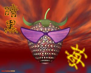 暗黒ストロベリー野郎(3Dキャラクター)