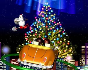 スノーポストマンと街のクリスマス(3Dキャラクター)