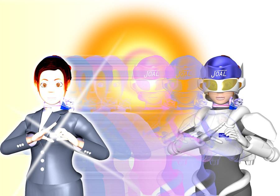 スッチー女傑シーン7(3Dキャラクター)
