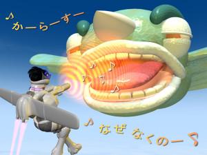 スッチー女傑シーン25(3Dキャラクター)