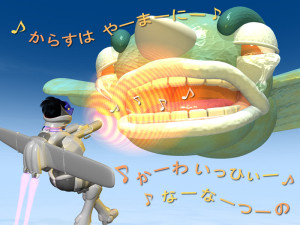 スッチー女傑シーン26(3Dキャラクター)