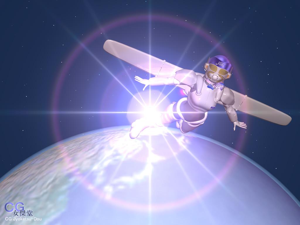 スッチー女傑シーン28(3Dキャラクター)