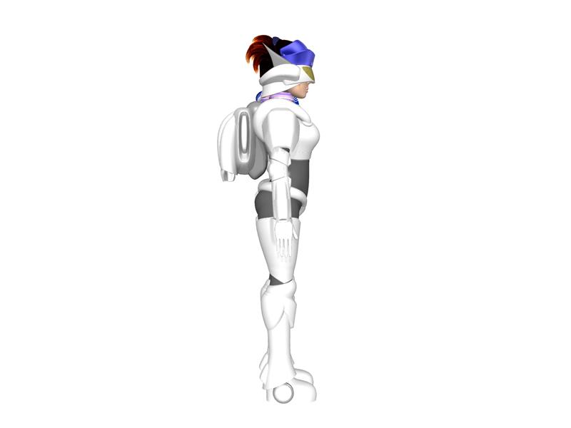スッチー女傑シーン8(3Dキャラクター)