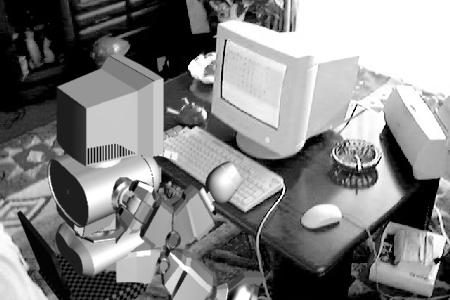 管理人の3DCG制作(モニタが古っ・・)