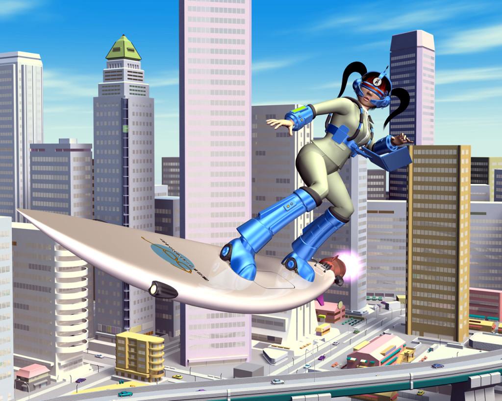 3DCG壁紙 ウェアラブル&サーフィン2