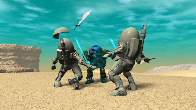 3DCG壁紙 鋼鉄武装サムライ2021-2