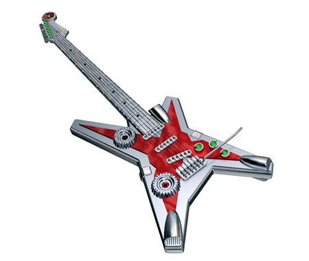メタルギターtype2(その他の3DCG)