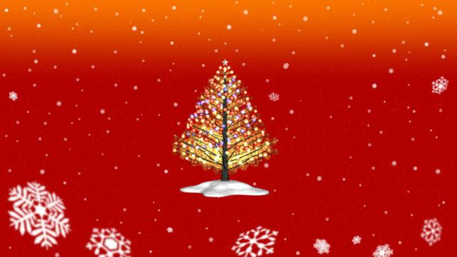 3DCG壁紙(再)3DCGクリスマス・ツリー2020